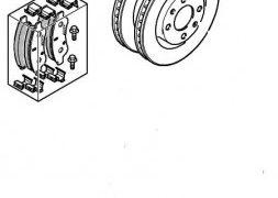 Δίσκοι και Τακάκια Εμπρός C3 diesel | Citroën-Peugeot Μενεξέδων